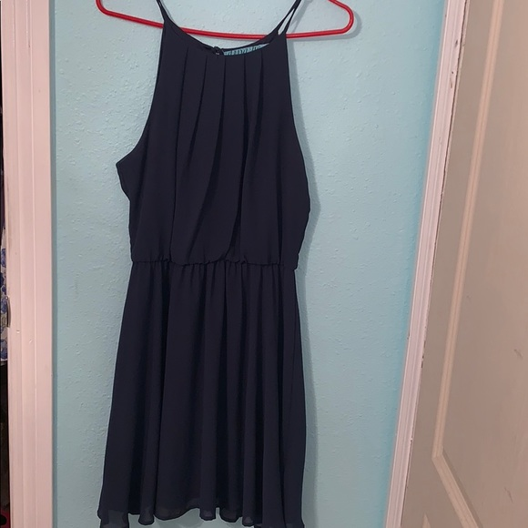 Francesca's Collections Dresses & Skirts - Francesca's Navy blue dress